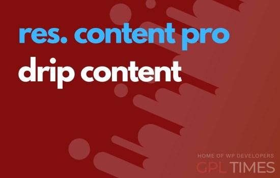 rc pro drip content