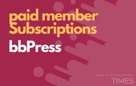 paid member bbPress