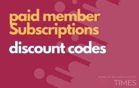 paid member discount codes