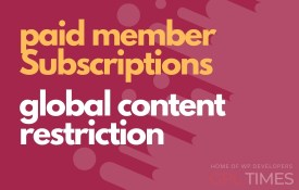 paid member global content restriction