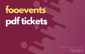 fooevent pdf tickets