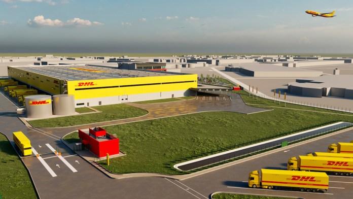 Nouveau Hub de DHL à Roissy