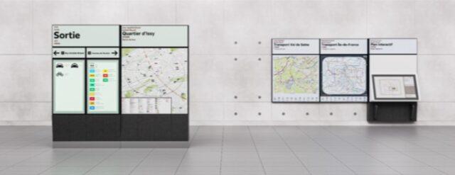 Gamme de design du Grand paris Express-Signalétique 1