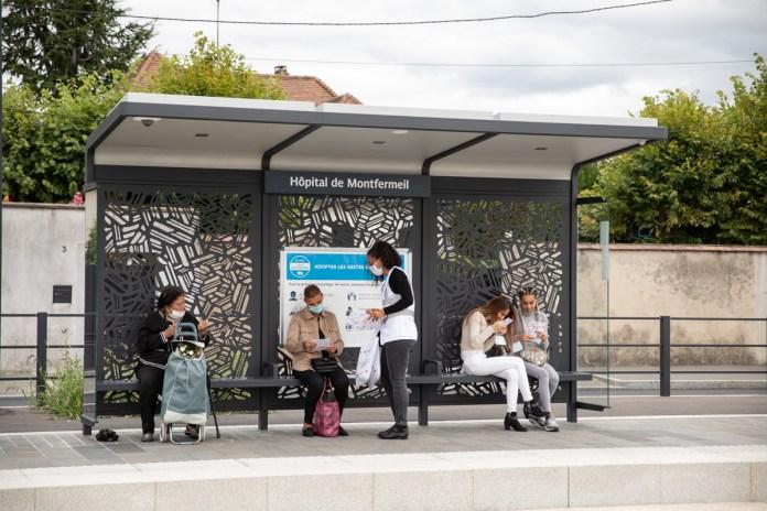 Station Hôpital de Montfermeil sur la ligne T4