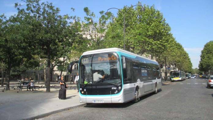 Bus électrique_Ligne_341_RATP