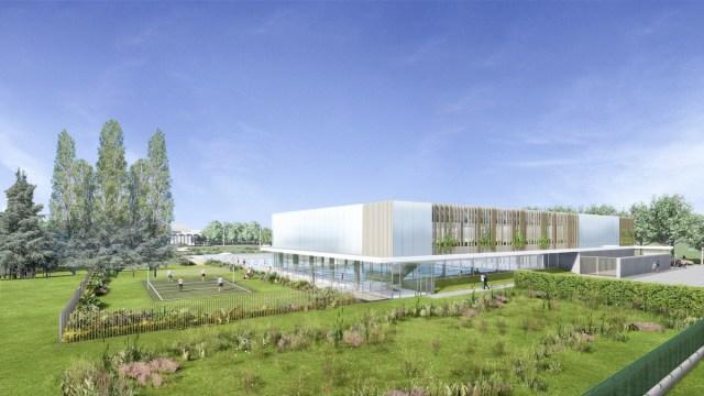 2-Centre aquatique de Marville - FACADE JO