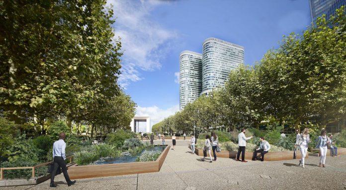 Jardin éphémère La Défense