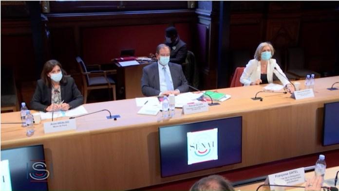 Table ronde Sénat Grand paris