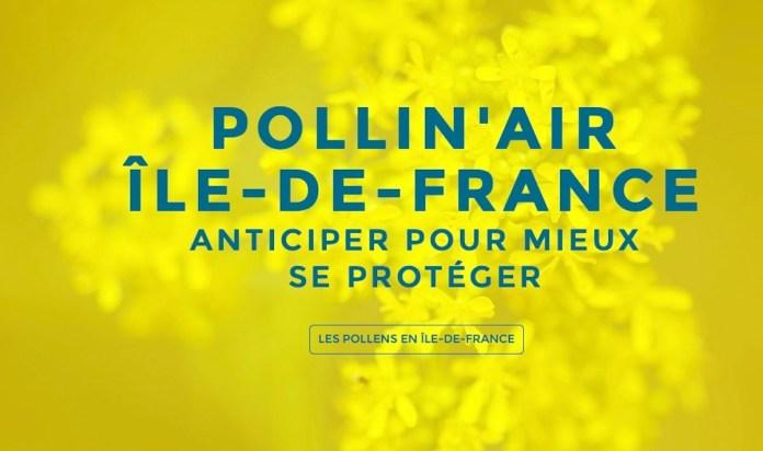 Logo Pollin'Air Airparif