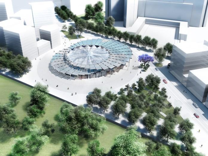 Perspective de la gare Villejuif Institut Gustave-Roussy (à jour avril 2017)-2