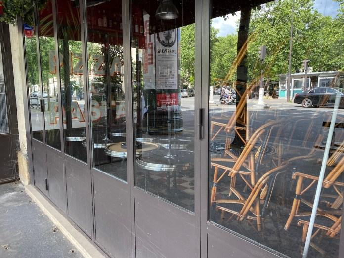 Restaurant fermé à paris durant la crise covid