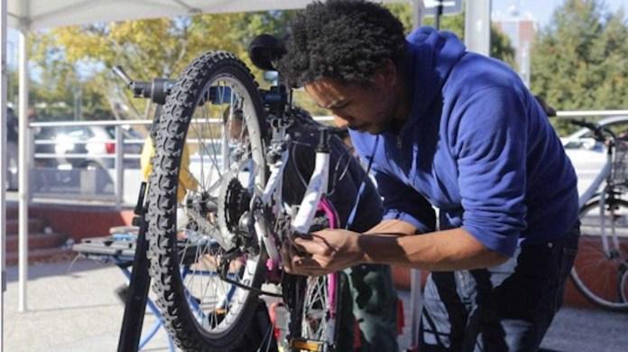 Ateliers vélos Transilien SNCF