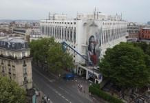 Fresque murale Lula Goce à Montmartre