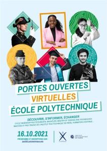 Polytechnique : Journée Portes Ouvertes virtuelle 2021 @ En ligne