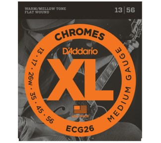 D'Addario - ECG-26 Chromes (013-056)