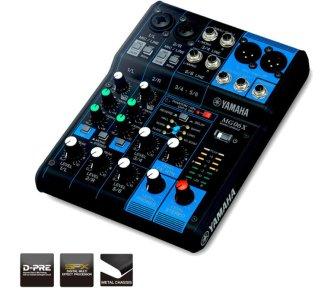 Yamaha - MG06X, (2 mono + 2 stereo m/FX)