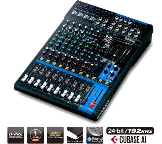 Yamaha - MG12XU, Mixer 12-Ch m/FX