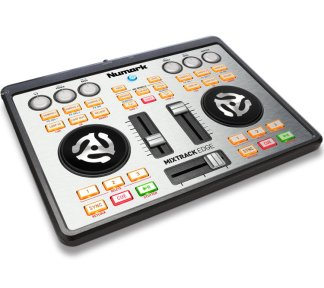Numark - MixTrack Edge, Ultra-Portable 2-channel DJ-Controller