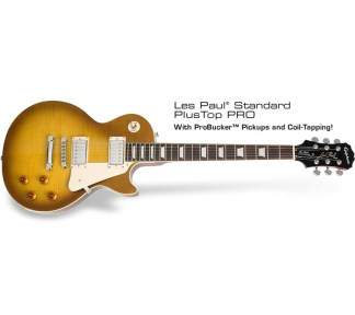 Epiphone - Les Paul Standard PlusTop Pro, Honey Burst