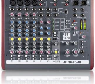 Allen & Heath - ZED-10FX 4 Mono 2 Stereo with USB