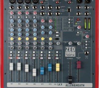 Allen & Heath - ZED60-10FX 4 Mono 2 Stereo with USB