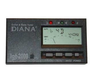 Diana - IGT-2000 gitar/bass-tuner