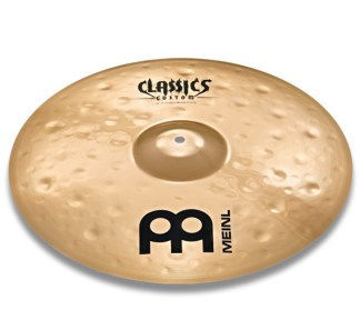 "Meinl - Classics Custom 16"" Extreme Metal Crash Cymbal"