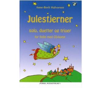 Julestjerner - solo, duetter og trioer for fiolin m/CD-komp