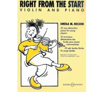 Right From the Start - Violin and Piano