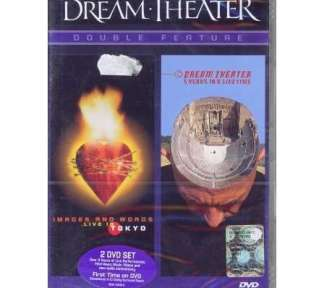 Dream Theater ‎  -  Double feature: images and words, live in to