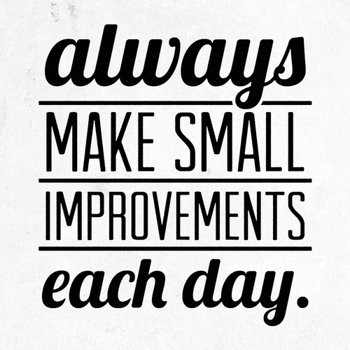 Why You Should Commit to Small Daily Improvements