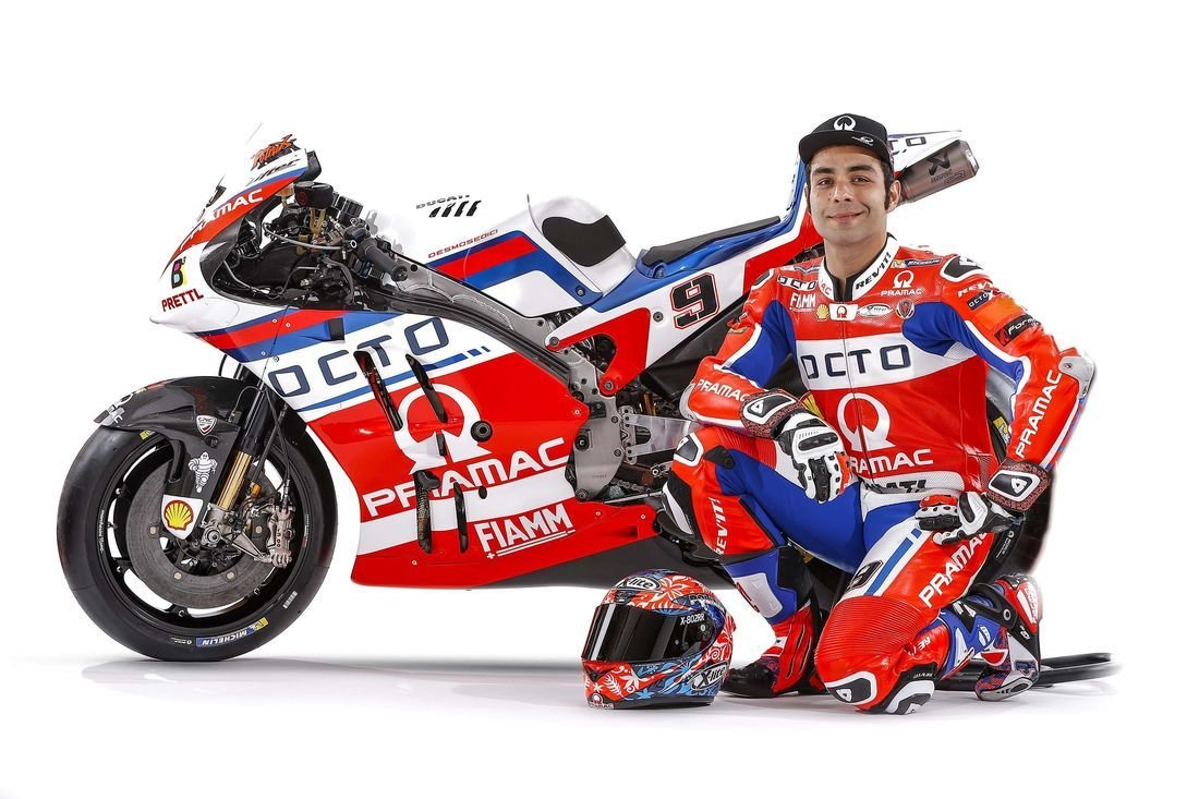 MotoGP PHOTOS Petrucci and Redding on the new Pramac