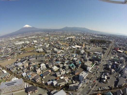 富士山と愛鷹山