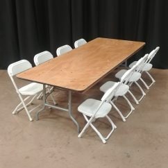 Tables And Chairs Rental Price Outside Metal 6 X 30 Children S Table 21 Height Giuffra Party Rentals Are Not Included In The Quantity