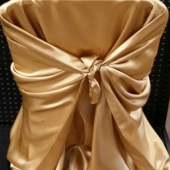 Gold Universal Chair Covers Office Ebay Cover Antique Giuffra S Party Rentals Quantity