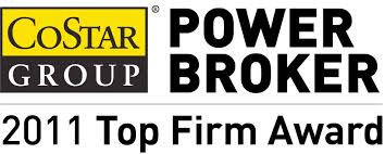 CoStar Power Broker Logo.2011 Top Firm Award To edit