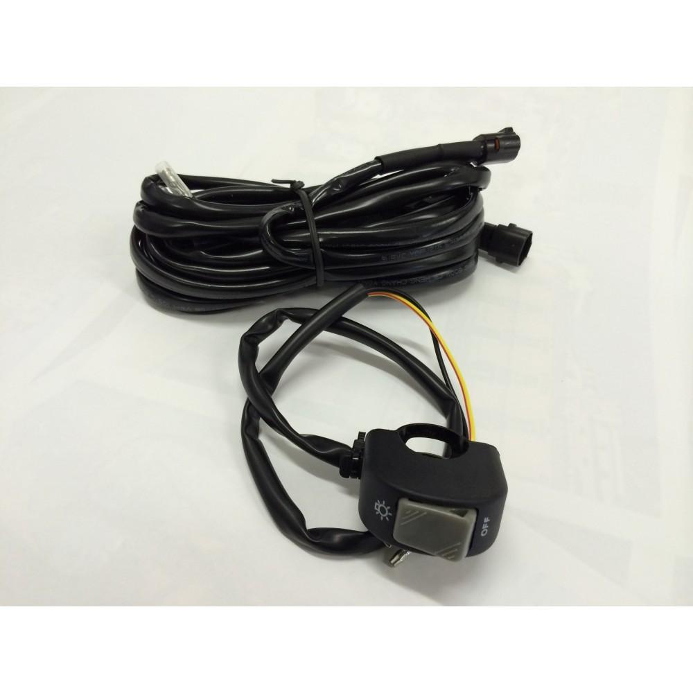 hight resolution of raptor led spot light kit universal fog light kit wiring relay switch further garmin ram mount