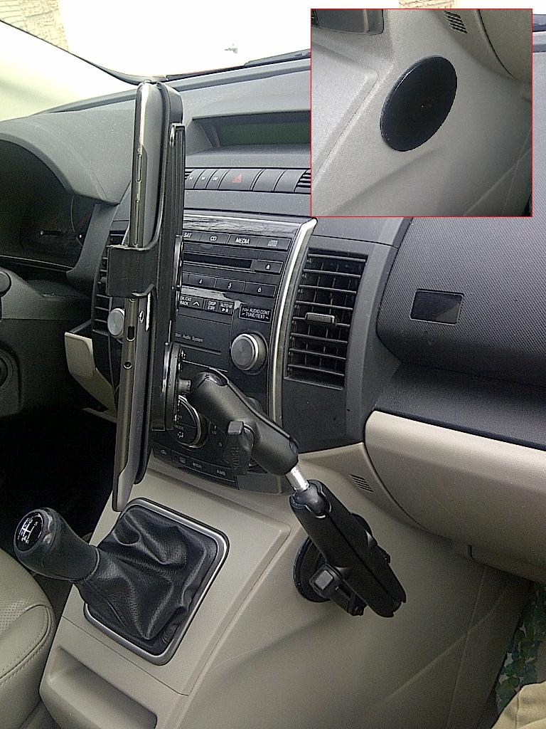 Samsung Galaxy Mount in Two Cars Gallery Article