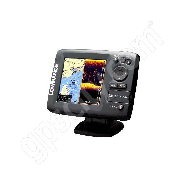 Lowrance Elite5 DSI Fishfinder and GPS Chartplotter