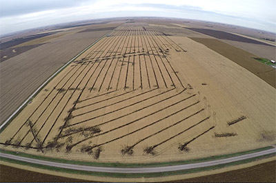 precision drainage excavating serving the farm tiling needs of iowa and minnesota