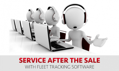Service After The Sale With Fleet Tracking Software