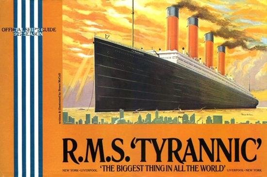 Bruce McCall's RMS Tyrannic