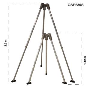GSE230S Standard Tripod Dims