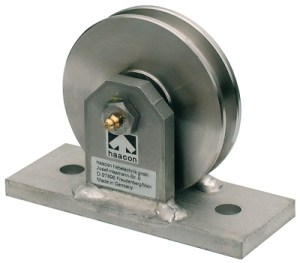 Stainless Pulley / Sheave with Bracket 100mm for 5 to 6.5mm rope