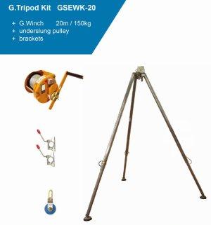 Globestock G.Winch Tripod Kits GSE230