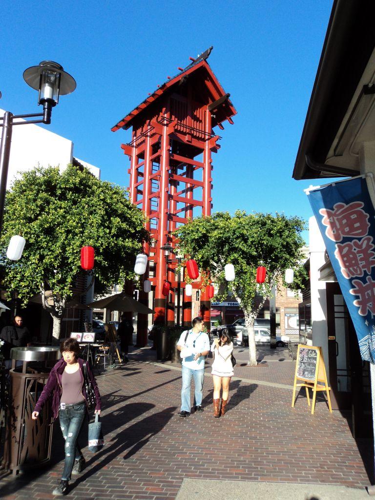 Historic LA Little Tokyo Los Angeles