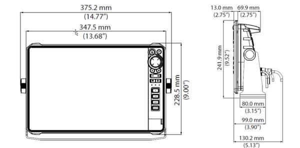 Lowrance HDS 12 LIVE【Sonda GPS Plotter】- GPS Náutico
