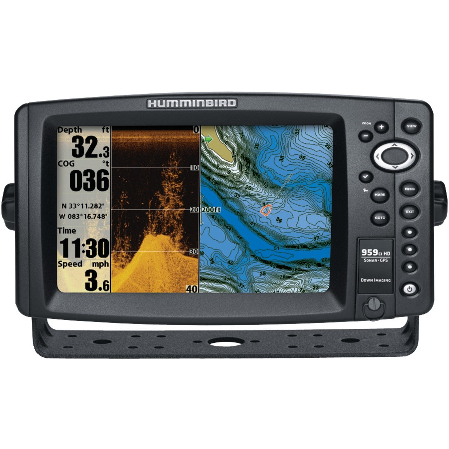 Humminbird 959 ci HD DI Combo Fish Finder System Black