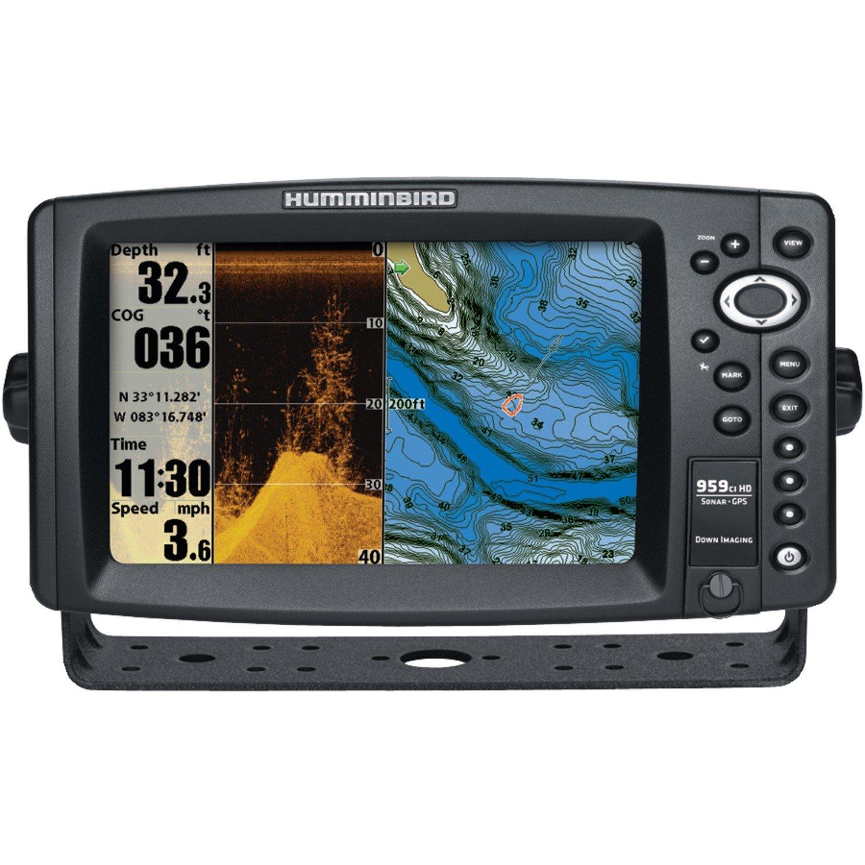 Humminbird 959 ci HD DI Combo Fish Finder System Black