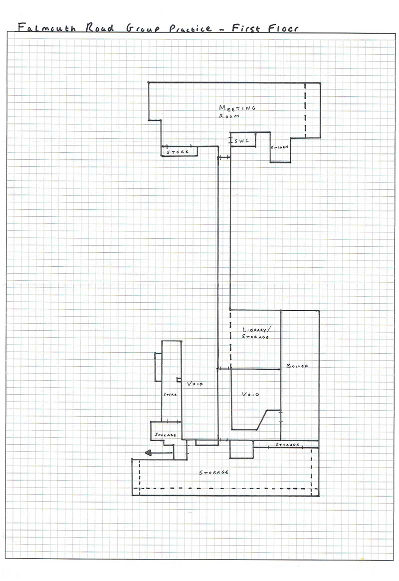 Falmouth Road Group Practice Floorplan - GP Surveyors